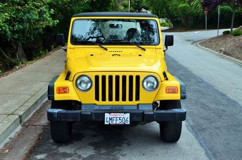2000 Jeep Wrangler for sale at Brand Motors llc in Belmont CA
