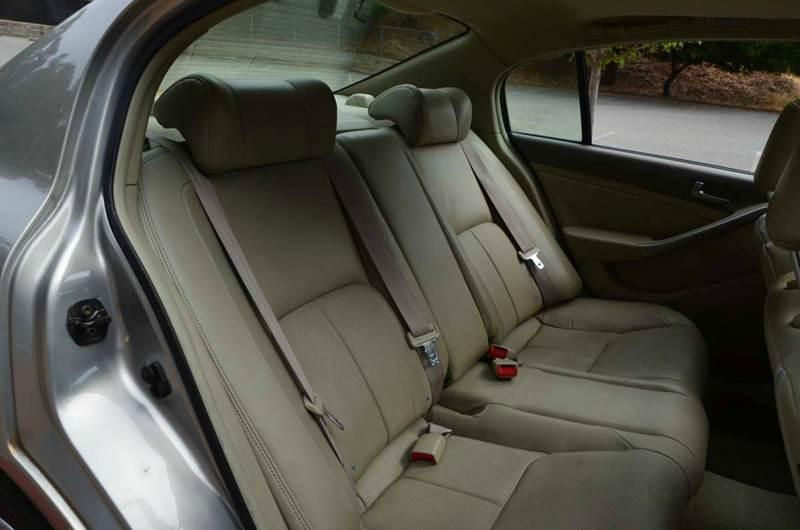 2003 Infiniti G35 Base Luxury 4dr Sedan w/Leather - Belmont CA