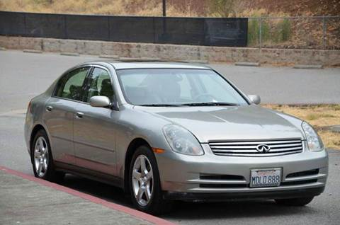 2003 Infiniti G35 for sale at Brand Motors llc - Belmont Lot in Belmont CA
