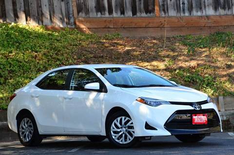 2017 Toyota Corolla for sale at Brand Motors llc - Belmont Lot in Belmont CA