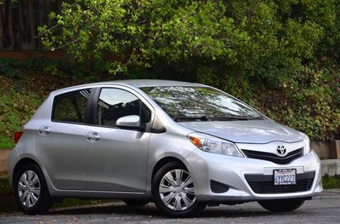 2013 Toyota Yaris for sale at Brand Motors llc - Belmont Lot in Belmont CA