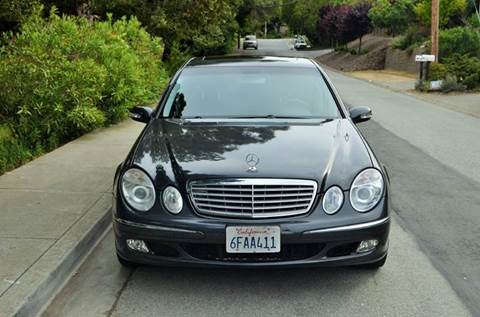 2004 Mercedes-Benz E-Class for sale at Brand Motors llc in Belmont CA