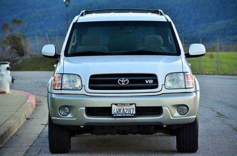 2002 Toyota Sequoia for sale at Brand Motors llc in Belmont CA