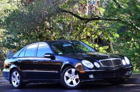 2003 Mercedes-Benz E-Class for sale at Brand Motors llc - Belmont Lot in Belmont CA