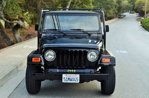 2001 Jeep Wrangler for sale at Brand Motors llc in Belmont CA