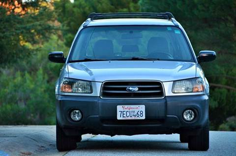 2004 Subaru Forester for sale at Brand Motors llc in Belmont CA
