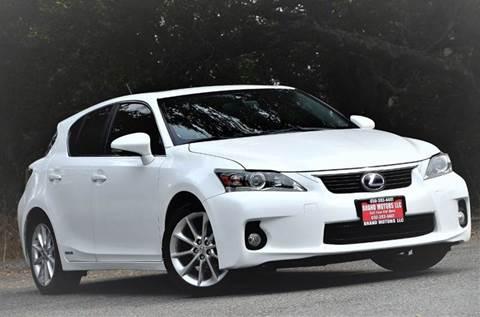 2011 Lexus CT 200h for sale at Brand Motors llc - Belmont Lot in Belmont CA