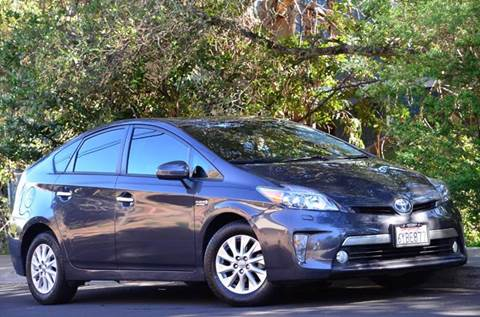 2013 Toyota Prius Plug-in Hybrid for sale at Brand Motors llc - Belmont Lot in Belmont CA