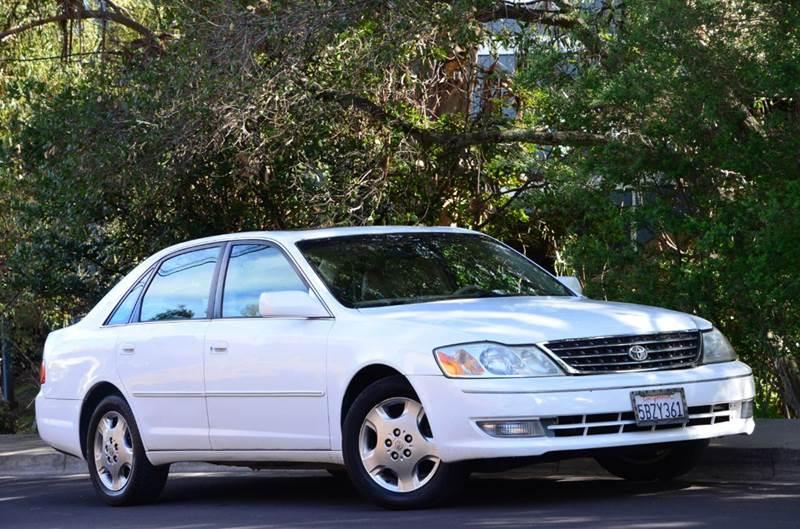 2003 toyota avalon xls 4dr sedan w bucket seats in belmont ca brand motors llc 2003 toyota avalon xls 4dr sedan w