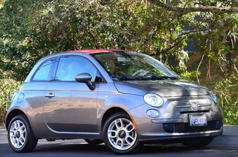 2012 FIAT 500c for sale at Brand Motors llc - Belmont Lot in Belmont CA