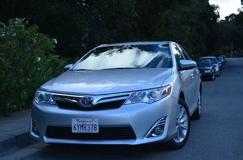 2012 Toyota Camry Hybrid for sale at Brand Motors llc in Belmont CA