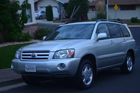 2004 Toyota Highlander for sale at Brand Motors llc in Belmont CA