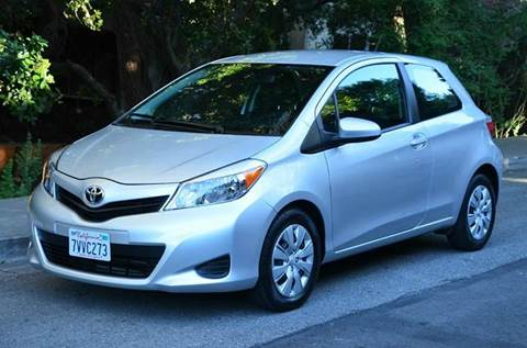 2014 Toyota Yaris for sale at Brand Motors llc - Belmont Lot in Belmont CA