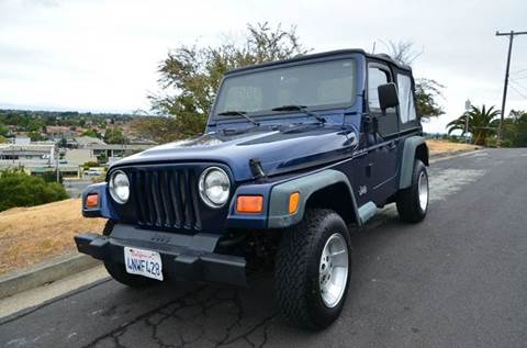 2000 Jeep Wrangler for sale at Brand Motors llc - Belmont Lot in Belmont CA