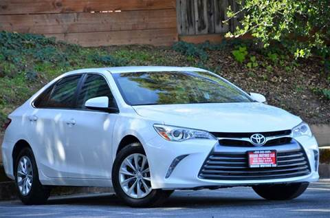 2016 Toyota Camry for sale at Brand Motors llc - Belmont Lot in Belmont CA