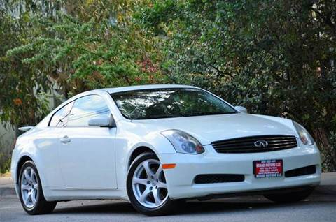 2005 Infiniti G35 for sale at Brand Motors llc - Belmont Lot in Belmont CA