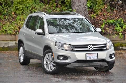 2013 Volkswagen Tiguan for sale at Brand Motors llc - Belmont Lot in Belmont CA