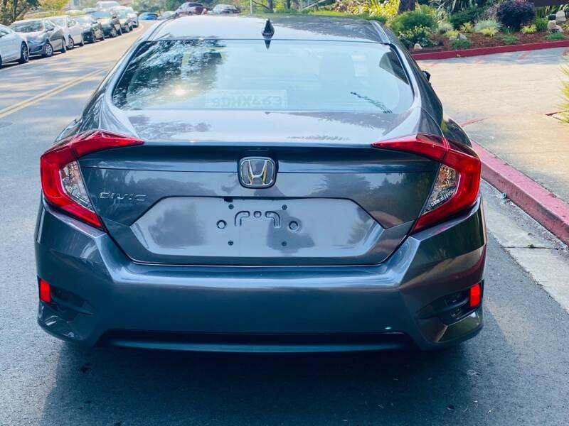 2018 Honda Civic EX 4dr Sedan - Belmont CA