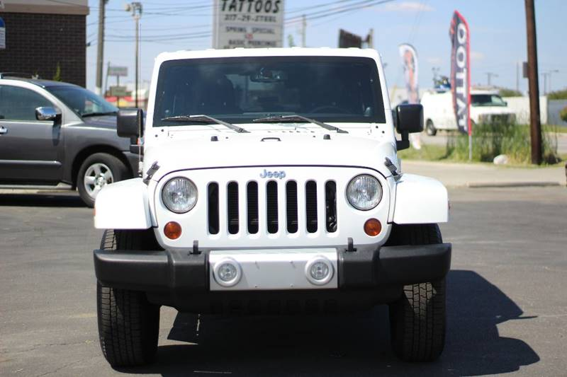 2013 Jeep Wrangler Unlimited 4x4 Sahara 4dr SUV - Indianapolis IN