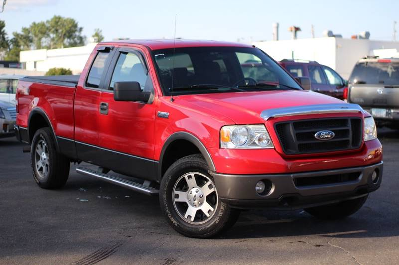 2008 Ford F-150 4x4 FX4 4dr SuperCab Styleside 6.5 ft. SB - Indianapolis IN