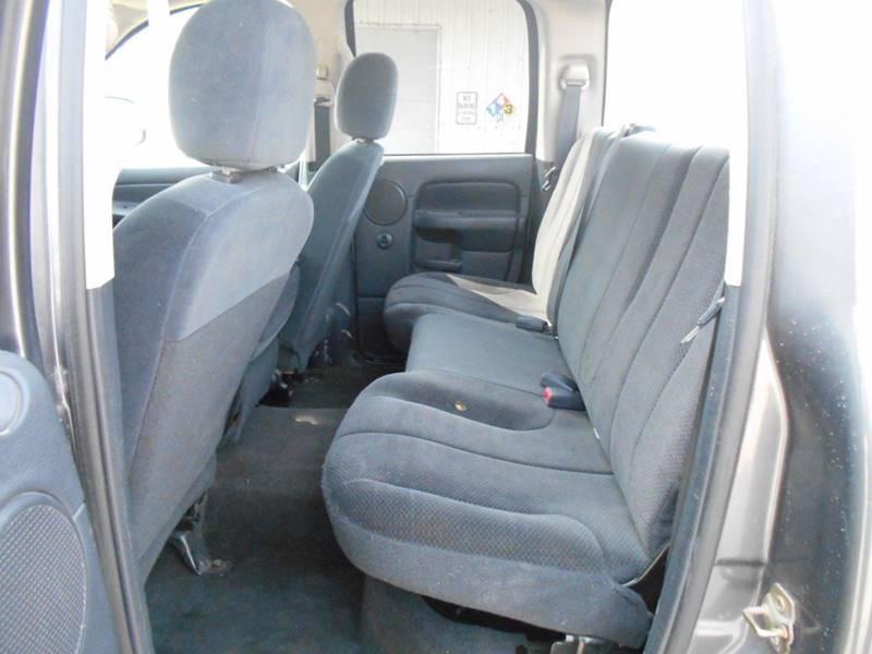 2003 Dodge Ram Pickup 1500 4dr Quad Cab SLT 4WD SB - Wichita KS