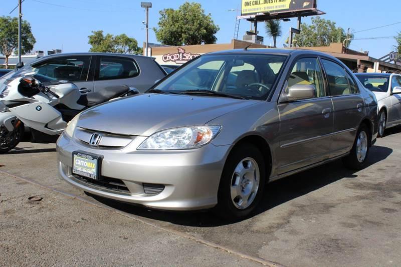 2004 Honda Civic Hybrid 4dr Sedan   Pomona CA