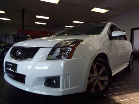 2012 Nissan Sentra for sale at SAINT CHARLES MOTORCARS in Saint Charles IL