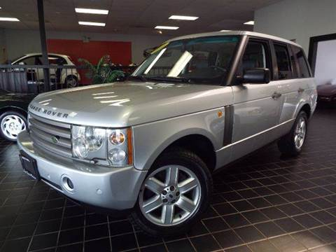 2003 Land Rover Range Rover for sale at SAINT CHARLES MOTORCARS in Saint Charles IL