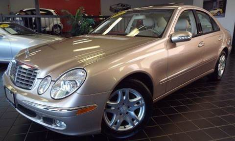 2003 Mercedes-Benz E-Class for sale at SAINT CHARLES MOTORCARS in Saint Charles IL