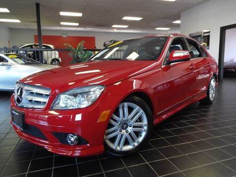 2009 Mercedes-Benz C-Class for sale at SAINT CHARLES MOTORCARS in Saint Charles IL