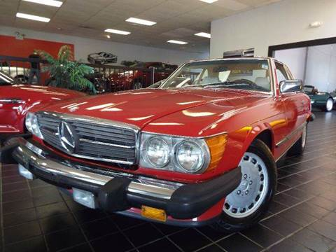 1988 Mercedes-Benz 560-Class for sale at SAINT CHARLES MOTORCARS in Saint Charles IL