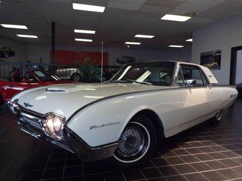 1962 Ford Thunderbird for sale at SAINT CHARLES MOTORCARS in Saint Charles IL
