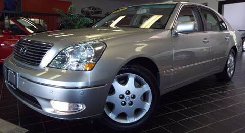 2003 Lexus LS 430 for sale at SAINT CHARLES MOTORCARS in Saint Charles IL