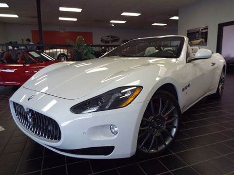 2013 Maserati GranTurismo for sale at SAINT CHARLES MOTORCARS in Saint Charles IL
