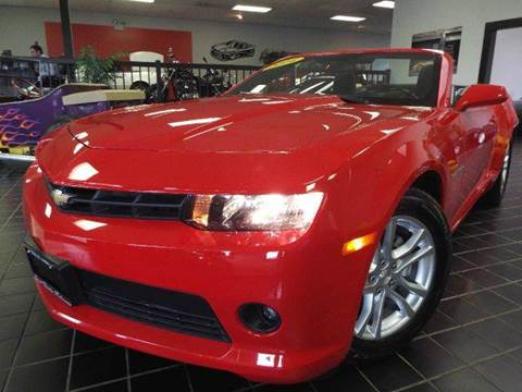 2014 Chevrolet Camaro for sale at SAINT CHARLES MOTORCARS in Saint Charles IL