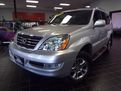 2008 Lexus GX 470 for sale at SAINT CHARLES MOTORCARS in Saint Charles IL