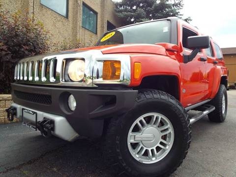 2008 HUMMER H3 for sale at SAINT CHARLES MOTORCARS in Saint Charles IL