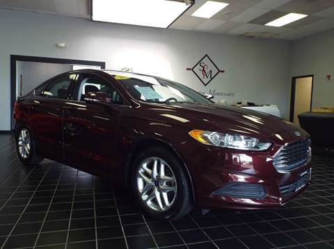 2013 Ford Fusion for sale at SAINT CHARLES MOTORCARS in Saint Charles IL