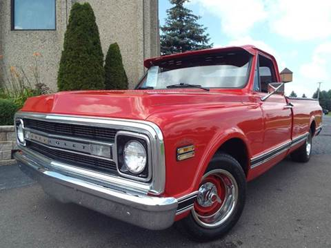 1970 Chevrolet C/K 10 Series for sale at SAINT CHARLES MOTORCARS in Saint Charles IL