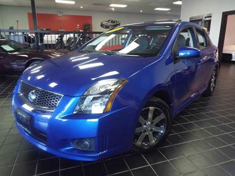 2011 Nissan Sentra for sale at SAINT CHARLES MOTORCARS in Saint Charles IL