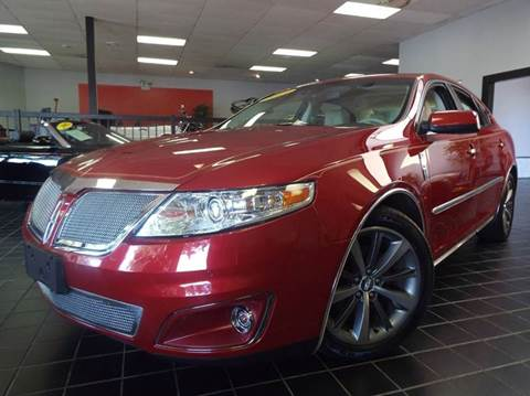 2009 Lincoln MKS for sale at SAINT CHARLES MOTORCARS in Saint Charles IL