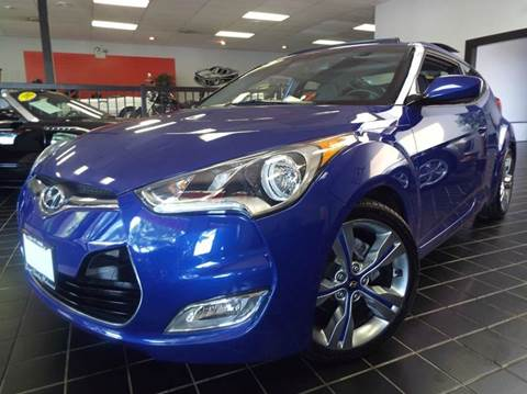 2012 Hyundai Veloster for sale at SAINT CHARLES MOTORCARS in Saint Charles IL
