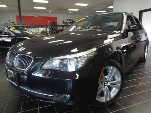 2009 BMW 5 Series for sale at SAINT CHARLES MOTORCARS in Saint Charles IL