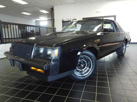1987 Buick Grand National for sale at SAINT CHARLES MOTORCARS in Saint Charles IL