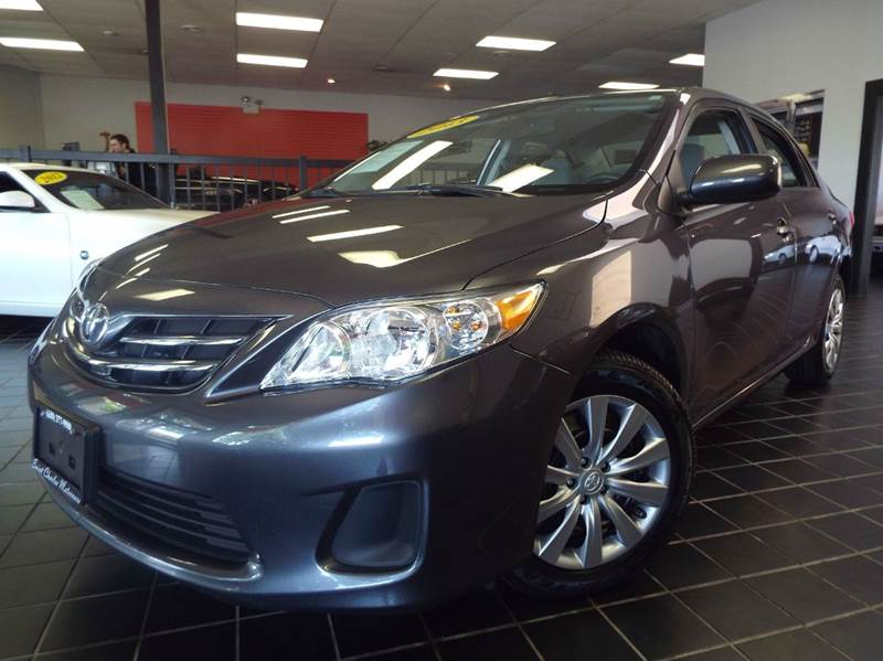 2013 Toyota Corolla for sale at SAINT CHARLES MOTORCARS in Saint Charles IL
