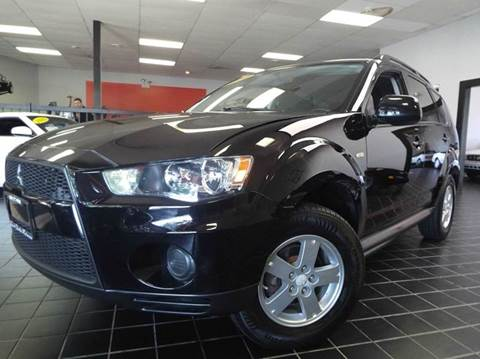 2010 Mitsubishi Outlander for sale at SAINT CHARLES MOTORCARS in Saint Charles IL