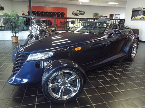 2001 Plymouth Prowler for sale at SAINT CHARLES MOTORCARS in Saint Charles IL