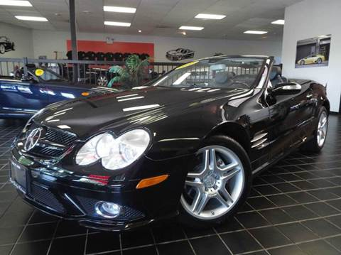 2008 Mercedes-Benz SL-Class for sale at SAINT CHARLES MOTORCARS in Saint Charles IL