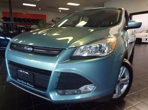 2013 Ford Escape for sale at SAINT CHARLES MOTORCARS in Saint Charles IL