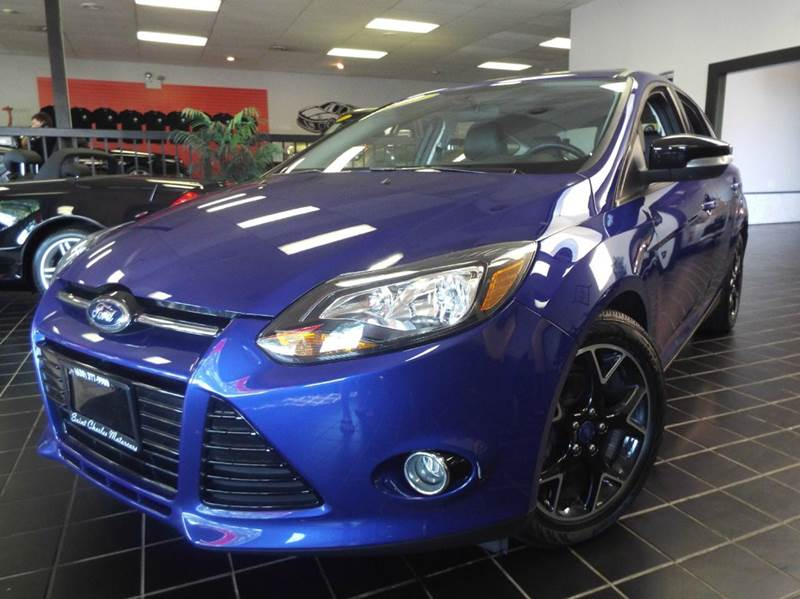 2013 Ford Focus for sale at SAINT CHARLES MOTORCARS in Saint Charles IL